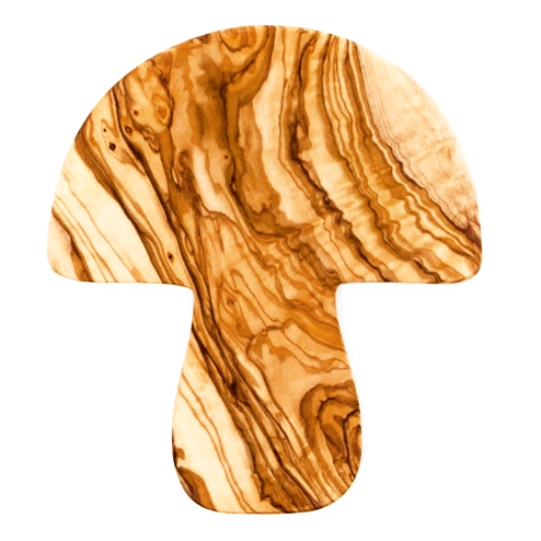 Magic Mushroom Olive Wood Coaster - Northlight Homestore