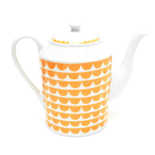 Tu Es La Vague/Yellow Coffee Pot - Northlight Homestore