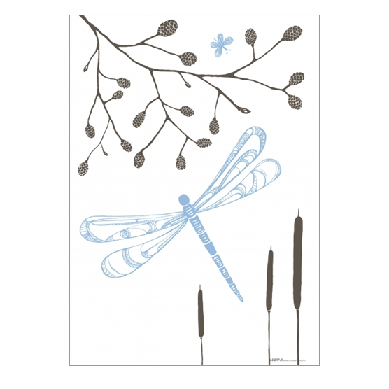 A3 Dragonfly Poster