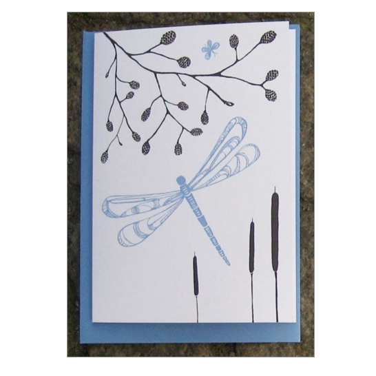 Dragonfly Card - Northlight Homestore