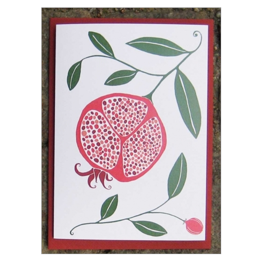 Pomegranate Card - Northlight Homestore