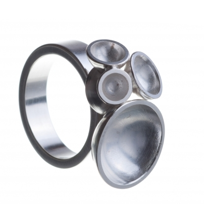 Silver Robur Ring