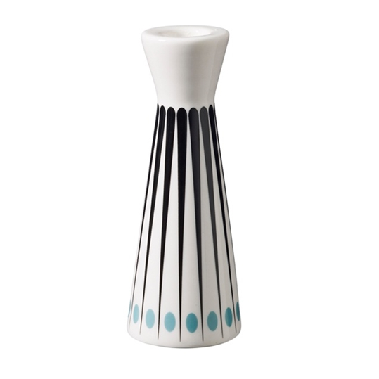 Superliving Amanda Aqua 15.5cm Candlestick