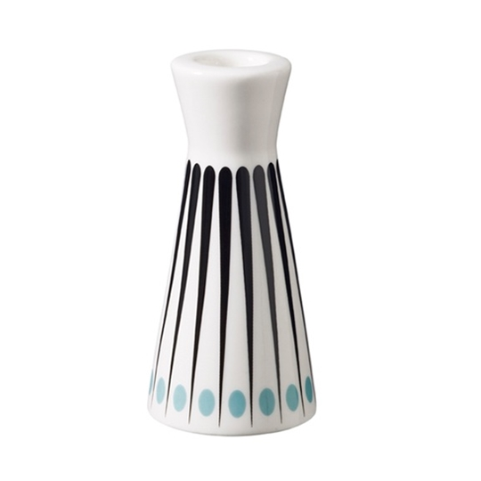 Superliving Amanda Aqua 12.5cm Candlestick