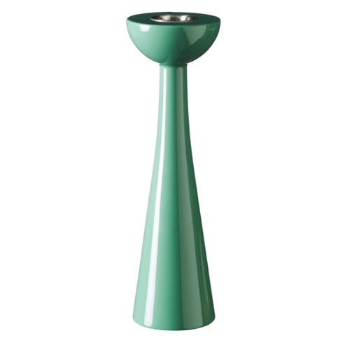 Cosmos Frosty Green 21cm Candlestick - Northlight Homestore