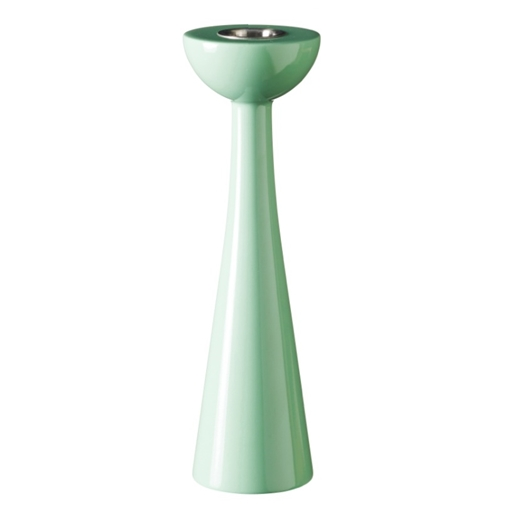 Cosmos Soft Mint 21cm Candlestick - Northlight Homestore