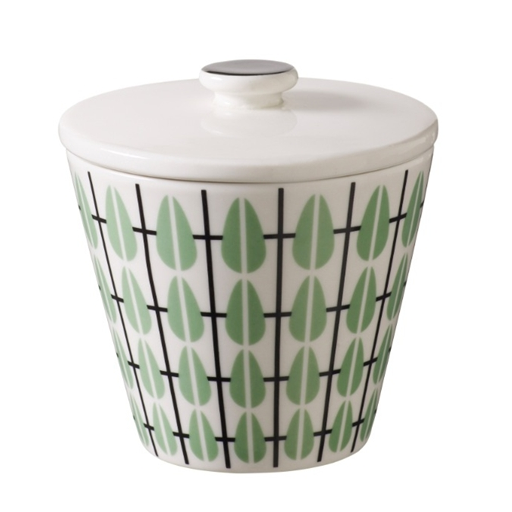 Olivia Mint Sugar Bowl - Northlight Homestore