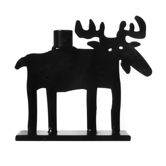 Moose Large Candle Holder