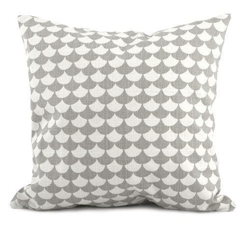 Waves Grey Cushion 65 x 65cm - Northlight Homestore