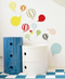 Balloons Wall Sticker - Northlight Homestore