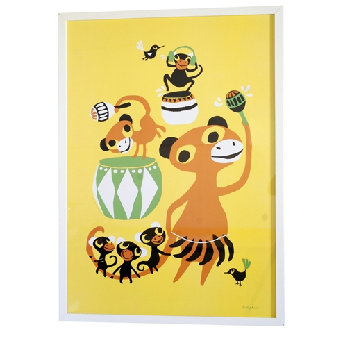 Bongo Party Print - Northlight Homestore