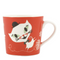 Catfun Porcelain Red Mug - Northlight Homestore