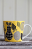 Fruit Yellow Porcelain Mug