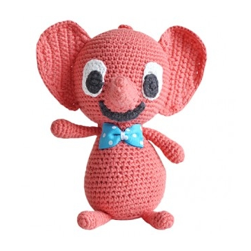 Red Soft Music Toy - Northlight Homestore