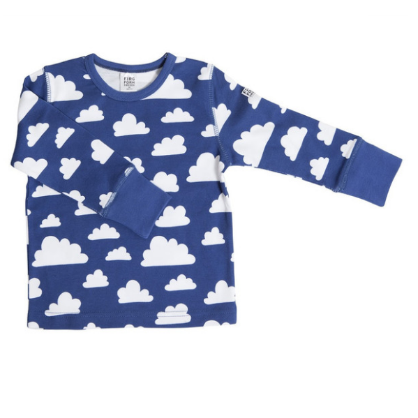 Moln Cloud Blue Longsleeve (no buttons) 3-4 Years - Northlight Homestore