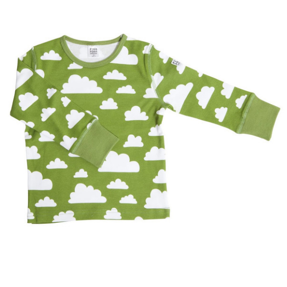 Moln Cloud Green Longsleeve (no buttons) - Various sizes