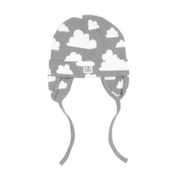 Moln Cloud Grey Beanie With Earflaps - Various sizes