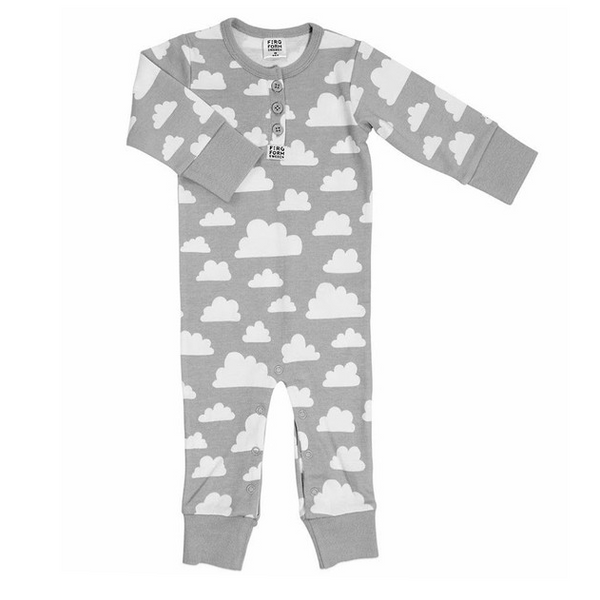 Moln Cloud Grey Bodysuit - Various sizes - Northlight Homestore