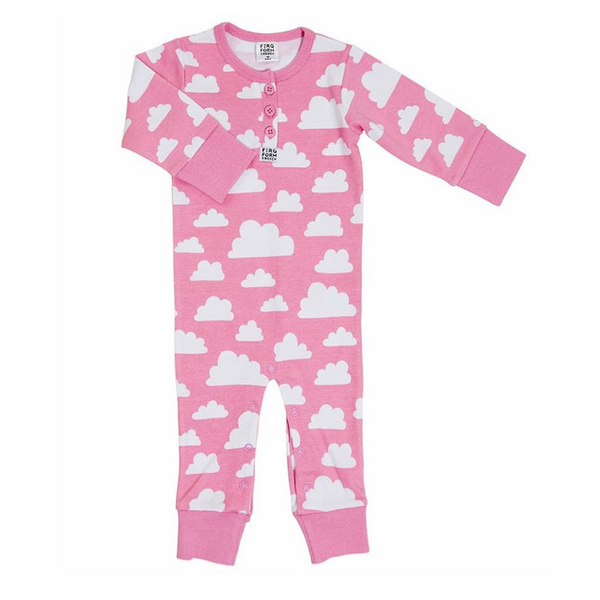 Moln Cloud Pink Bodysuit - Various sizes