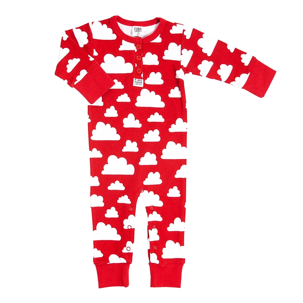 Moln Cloud Red Bodysuit - Various sizes