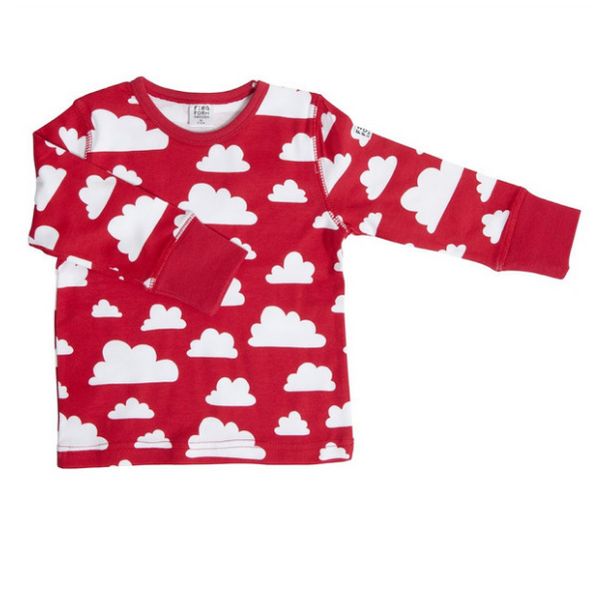 Moln Cloud Red Longsleeve (No Buttons) - Various sizes