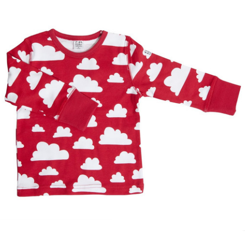Moln Cloud Top Red Longsleeve - Various Sizes - Northlight Homestore