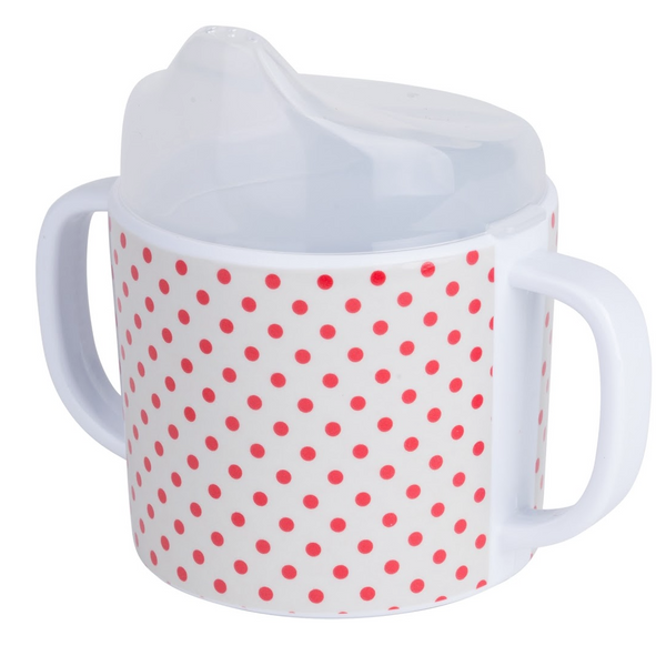 Skummis Red Dots Melamin Mug - Northlight Homestore