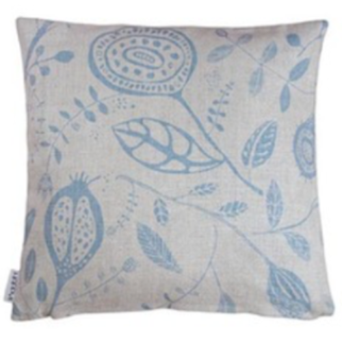 Orangeriet Natural/Blue Cushion Cover