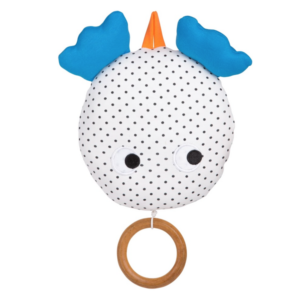 Skummis Grey Polkadot Music Toy
