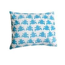 Frog Turquoise Pillow Case - Northlight Homestore
