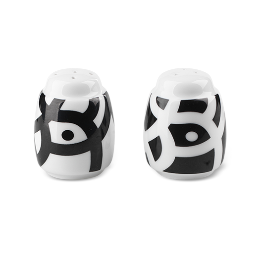 Salt & Pepper Shakers - Thickety Thick/Black - Northlight Homestore