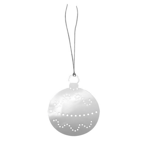 Xmas Ball Metal Decoration