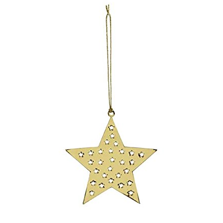 Star Gold Decoration