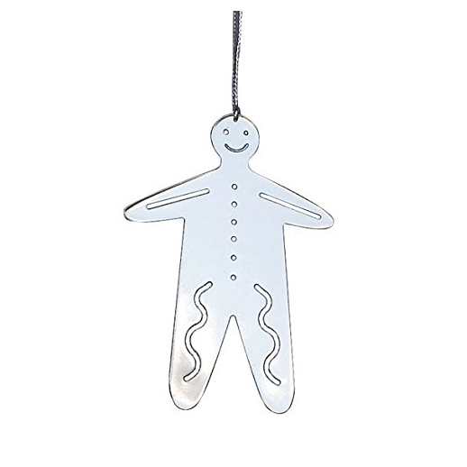 Gingerbread Man Metal Decoration
