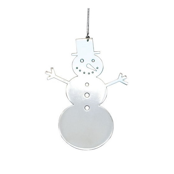 Snowman Metal Decoration - Northlight Homestore