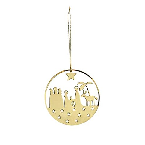 Crib Gold Decoration - Northlight Homestore