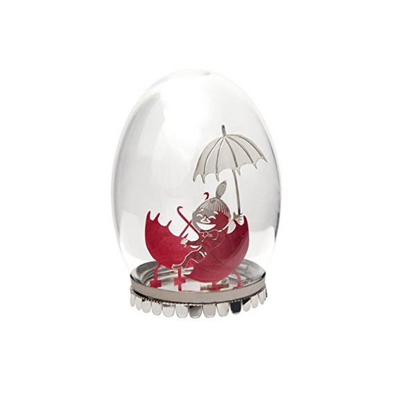 Little My Glass Egg Decoration