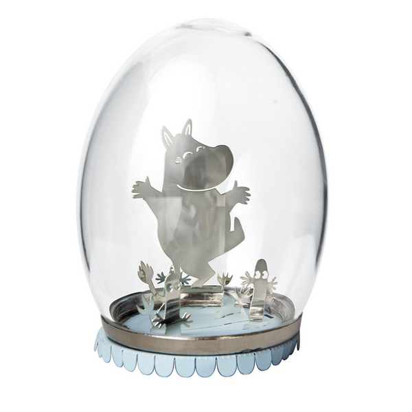 Moomin Glass Egg Decoration - Northlight Homestore