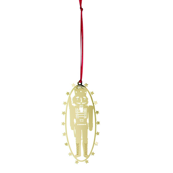 Toy Solidier Gold Decoration