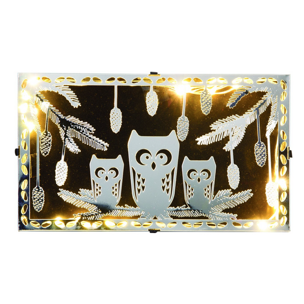 Owl LED Box Decoration