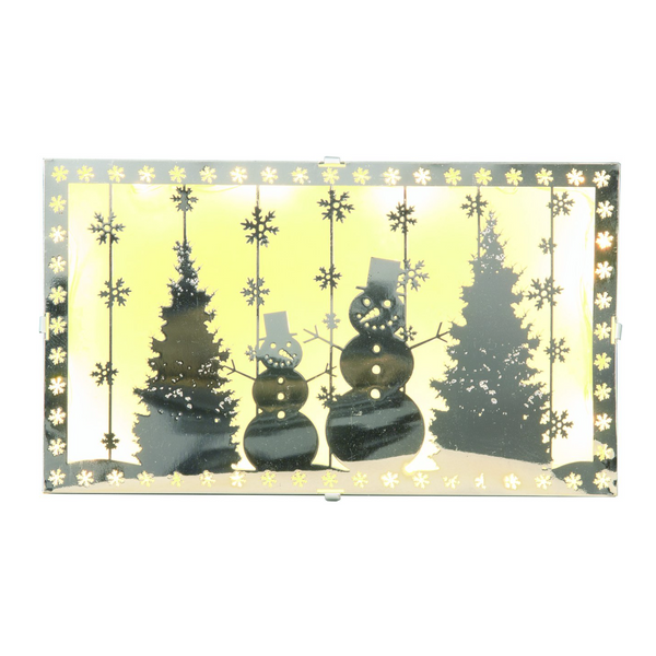 Snowman LED Box Decoration