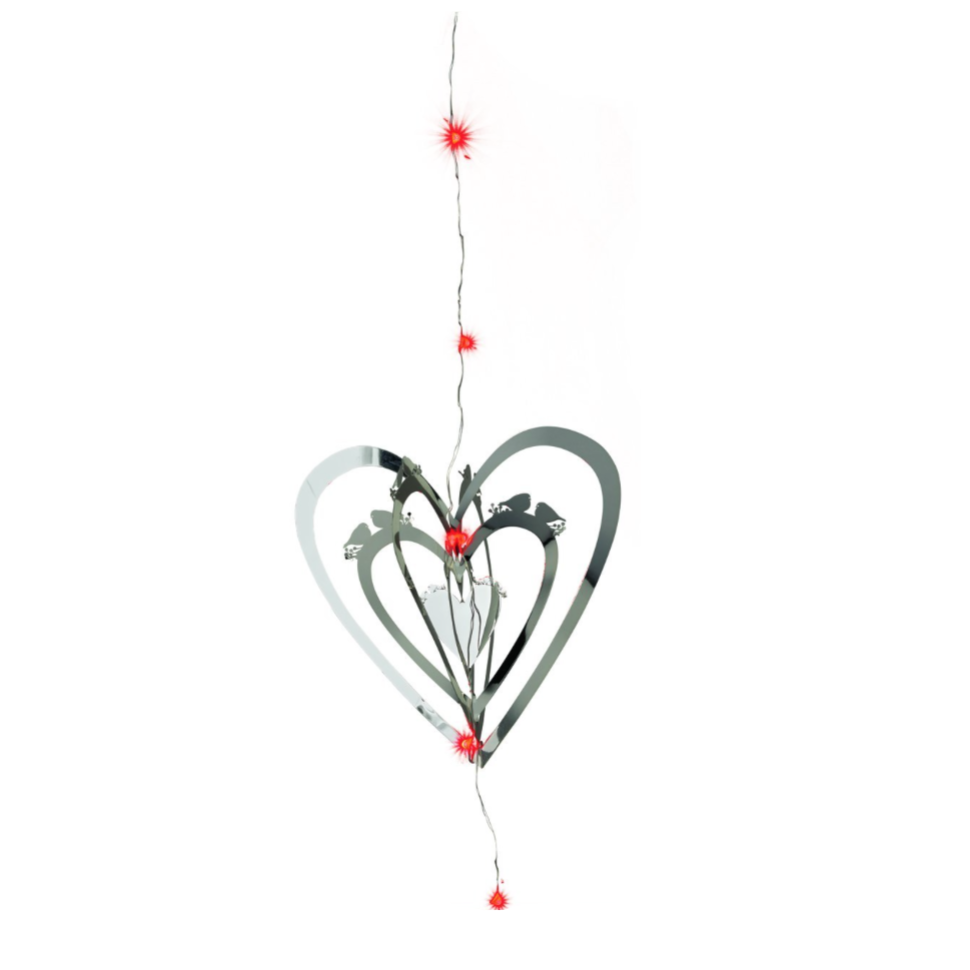 LED 3D Heart Decoration - Northlight Homestore