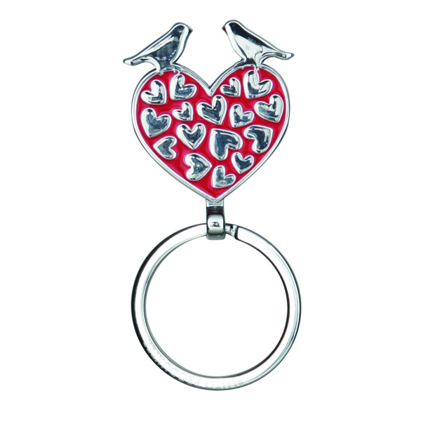Lovebirds Keyring - Northlight Homestore