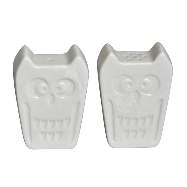Owl Salt & Pepper Set - Two Colours - Northlight Homestore