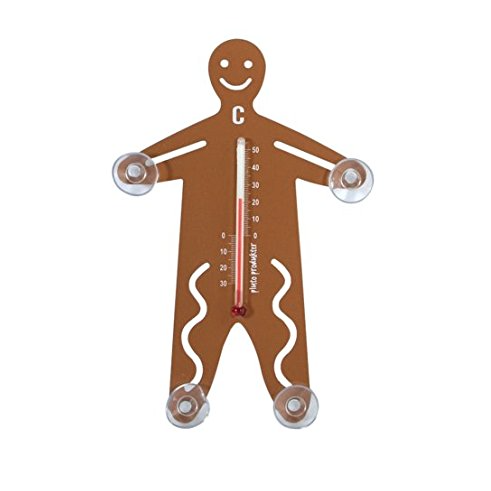 Gingerbread Man Thermometer - Northlight Homestore
