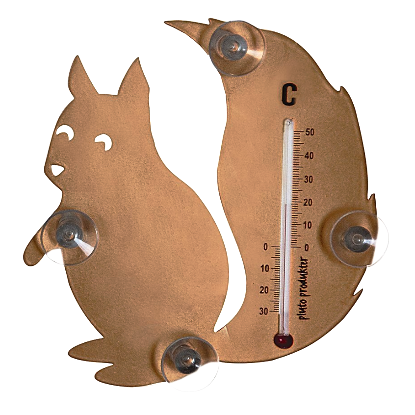 Squirrel Thermometer - Northlight Homestore