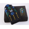Blue & Black Pattern DIY Latvian Mitten