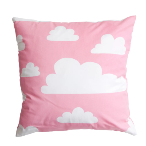 Moln Cloud Cushion Cover Pink - Northlight Homestore