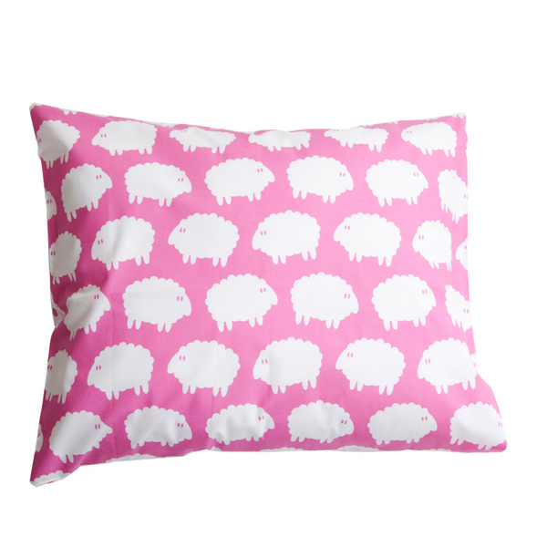 Lamb Pink Children's Pillow Case - Northlight Homestore