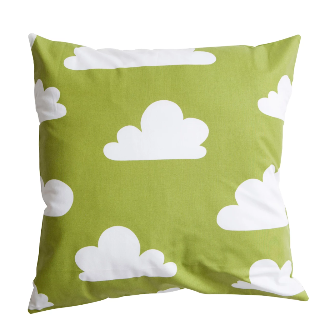 Moln Cloud Cushion Cover Green - Northlight Homestore